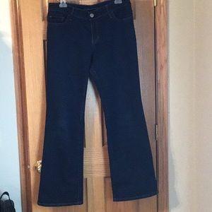 Banana Republic Size 32 Curvy Bootcut Jeans